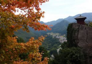 山形山寺は芭蕉の聖地